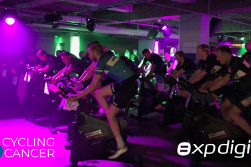 XP Digital som deltager ved Cycling4Cancer
